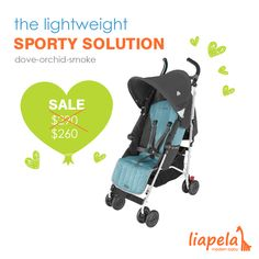 The perfect stroller from @maclarenbaby, trusted for their safety standards, for your next adventure! The Maclaren Quest, now available for (US)$260, is sporty and lightweight.   This ultimate #travel companion is made even better with its safety features. It includes a tether strap, five point harness, and foot pedals. All in blue for your beautiful baby boy!  Like on Instagram @LiapelaModernBaby