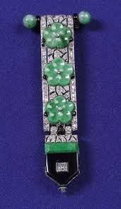Image result for ART DECO LAPEL WATCH