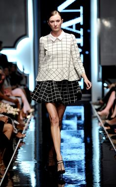 blog by Joanna Przetakiewicz | La Mania Spring/Summer 2014 Summer 2014, Spring Summer, Catwalk, Lace Skirt, Fashion Show, Skirts, Blog, Blouses, Skirt