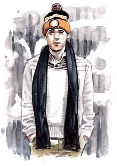 Daily Fashion Illustration 218, Brian Ramos