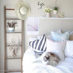 Ahhh who doesn't love a lazy #Caturday morning? Have a lovely weekend everyone! #whitefoxstyling