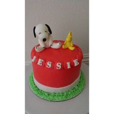 #Snoopy #cake specially made for a #birthday!