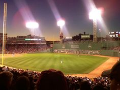 Fenway Park- One day, I will go here!
