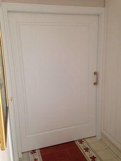 #puertas de ancho especial 9100AR #lacada en blanco instalada en #corredera