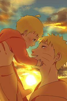 Baby Boruto & Naruto