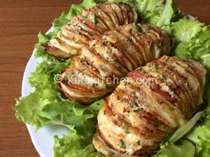patate hasselback ricetta