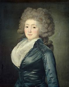 1780s Olga Zherebtsova by Jean-Louis Voille (Russian Museum, St. Petersburg)