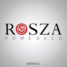 Rosza Home Deco Logo Design (Option)