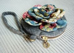 Vintage Flower Purse Tutorial
