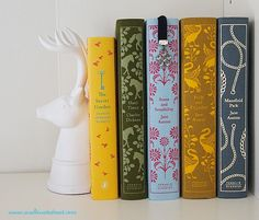Puffin Classics books with pretty covers! Love them!