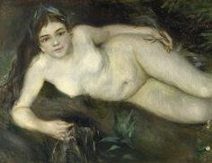 Pierre-Auguste Renoir | A Nymph by a Stream | NG5982 | National Gallery, London