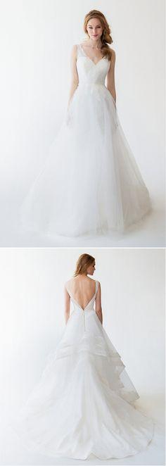 The Ula wedding gown from Kelly Faetanini. http://www.kellyfaetanini.com/spring2015/1vqumh0sc0mbhnivigk655g27frnbg