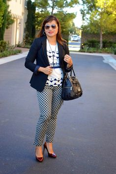 The Limited Collection Blazer Old Navy Pixie Pants Rebecca Minkoff Satchel