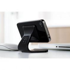"""Milo  by  Bluelounge  iPhone Ständer - weiss  Zubehör gibt es viel - Designs auch! Daher suchen wir für Euch die Produkte mit dem """"i""""-Tüpfelchen heraus. Besonderes Augenmerk legen wir dabei auf die optimale Verbindung von Qualität, Design und Technik."""