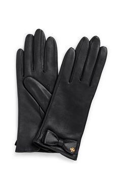 Leather Bow Gloves- I just bought these at forever 21 and in love with them!!