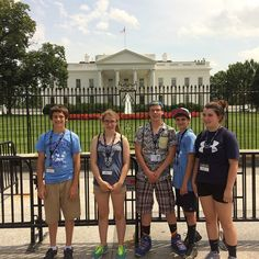 More CLV students visiting the White House. #clv2019