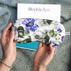 Stephie Ann Floral Silk Eye Mask Cheap Lingerie, Buy Lingerie, B By Ted Baker, Silk Knickers, Silk Eye Mask, Lingerie Accessories, Pajama Shirt, Stocking Fillers, Esty