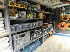 Do You Need a Trailer for Tool Storage? While investing in a box trailer or other type of pull-behind storage isn't strictly necessary, contractors who work with a myriad of different tools, or those Van Storage, Trailer Storage, Truck Storage, Tool Storage, Locker Storage, Storage Ideas, Work Trailer, Utility Trailer, Dewalt Tool Box