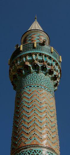 Green Mosque Minaret, Iznik, Turkey