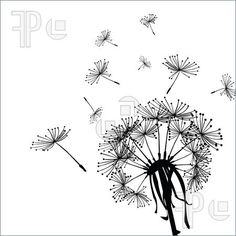 Dandelion In Wind Plants Illustration by You may easily purchase this image as Guest without opening an account. Blowing Dandelion, Dandelion Art, Art Et Illustration, Illustrations, Clip Art, Art Tips, Flora, Stock Photos, Drawings