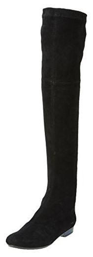 Robert Clergerie Fissaj, Damen Stiefel, Schwarz (velours Stretch Noir), 38 - Stiefel für frauen (*Partner-Link) Partner, Knee Boots, Link, Shopping, Shoes, Fashion, Velvet, Boots, Black
