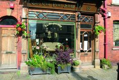 Store frontage of The Old Pine Shop, Highstreet Bridlington Old Town