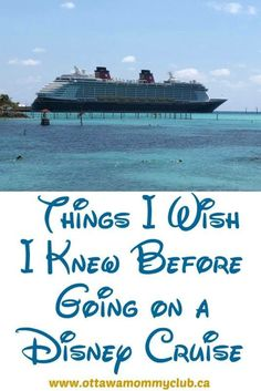 A Disney cruise is a magical trip of a lifetime. Keep reading to learn more about Things I Wish I Knew Before Going on a Disney Cruise! Disney Halloween Cruise, Disney Fantasy Cruise, Disney Cruise Ships, Walt Disney World Vacations, Cruise Tips, Cruise Travel, Cruise Vacation, Disney Travel, Italy Vacation