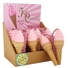 Ice Cream Skipping Rope for party favors