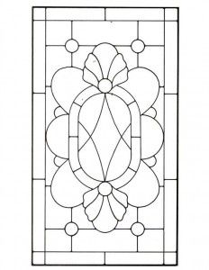 Victorian Stained Glass Pattern   todo lo que amo 6   Pinterest   Brillen,  Muster und Buntglasmuster