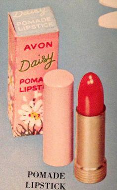 Avon lipstick Vintage Makeup Ads, Retro Makeup, Vintage Avon, Vintage Perfume, Vintage Beauty, Retro Vintage, Avon Lipstick, Lipstick Case, Red Lipsticks