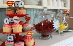 Lake Cottage Dreams: Superhero Birthday Party