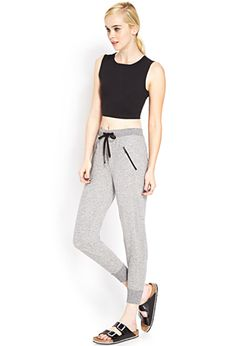 Zip Pocket Sweatpants | FOREVER21 - 2000105862