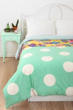 Half Dot Double Duvet Cover at Urban Outfitters