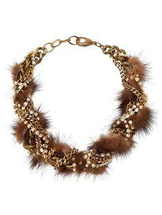 Fenton Fur Chain Necklace