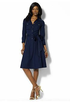 It's an absolutely perfect shirt dress.  I could wear this anywhere.