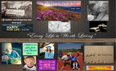 "Pin – It Photomontage Level II 1ST PLACE WINNER. Respect Life theme ""Every Life is Worth Living"". All entries are property of Respect Life Diocese of Rockville Centre Office © 2016"