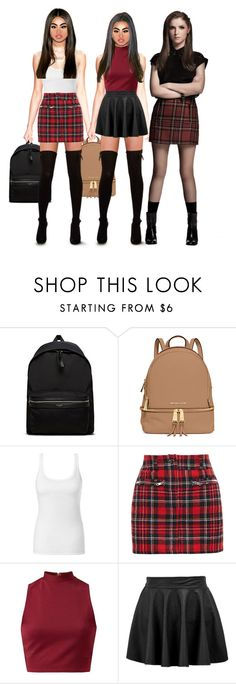 """""""School Buddies."""" by brooklyn-taylor-ford ❤ liked on Polyvore featuring Yves Saint Laurent, MICHAEL Michael Kors, Intimissimi, Filles à papa, women's clothing, women's fashion, women, female, woman and misses"""