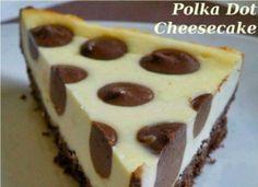 Cheescake a pois - Polka dot cheescake