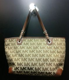 Michael Kors signature tote at Clothes Mentor in North Richland Hills.