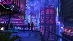 Cyberpunk 2077 - It looks so beautiful even if its a brutal game xD If you wanna read more click the link in my bio Cyberpunk 2077, Cyberpunk City, Futuristic City, Wallpaper Keren, Neon Wallpaper, Images Wallpaper, Wallpaper Backgrounds, 1080p Wallpaper, Scenery Wallpaper