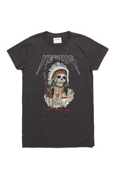 Yeezus Tour Merch Indian Chief T-Shirt #yeezus #pacsun