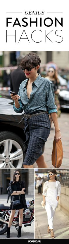 Fashion hacks and tips to get you through 2015 in style.