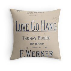 'Love Go Hang' Throw Pillow by Ioan Rosca Nastasescu It Is Finished, Throw Pillows, Words, Toss Pillows, Cushions, Decorative Pillows, Decor Pillows, Scatter Cushions, Horse