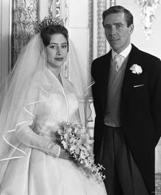 Hrh Princess Margaret Of England And The Earl Of Snowden Antony Armstrong Jones On  C B Wedding Portraitsmargaret Roseroyal