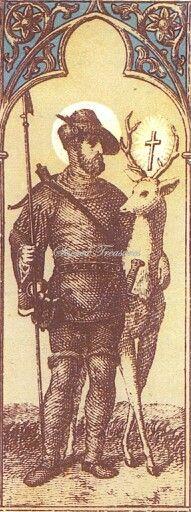 Patron saints of hunters and fishermen 87