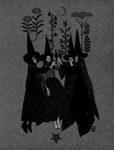 This is mostly witchy stuff. I'm also into Gothic, creepy, vintage, witchy, photos. Kunst Inspo, Art Inspo, Witch Aesthetic, Aesthetic Art, Psychedelic Art, Arte Obscura, Witch Art, Arte Horror, Halloween Art