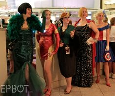 1940s Avengers and Loki at Dragon*Con 2012.  Picture from Epbot.com.  Inspired by http://kelseymichele.deviantart.com/#/d55crwf