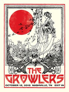 The Growlers Concert Poster Nashville TN Exit IN