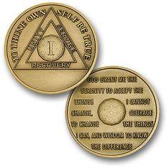 "1 Year - AA Antique Bronze - 1⅜"""