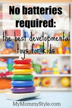 No Batteries Required: the best developmental toys for kids, black friday, mymommystyle